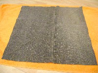 recycled jeans bag square