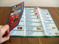 Pizza Leaflet